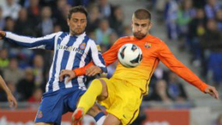 Барса спечели Купата на Каталуния след дузпи срещу Еспаньол