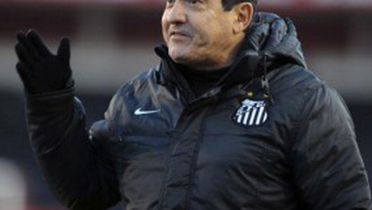 Сантос уволни треньора след напускането на Неймар