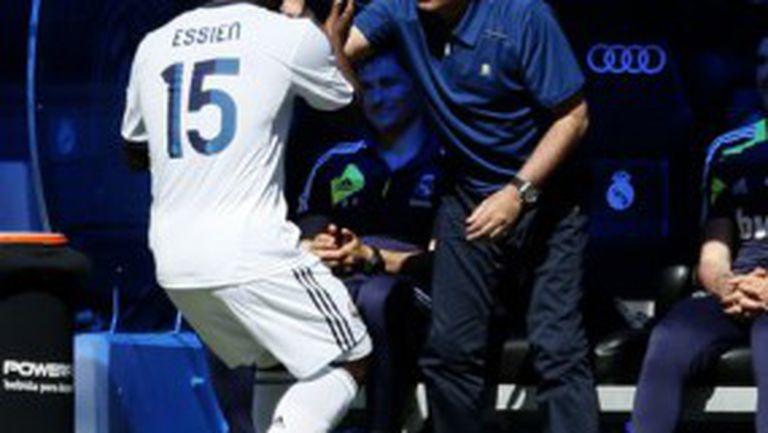 Реал Мадрид се развихри в края при противоречивото сбогуване с Моуриньо (видео)