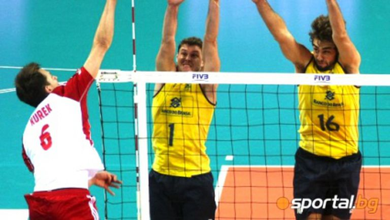 Полша vs. Бразилия - шоуто е гарантирано! Гледайте мача ТУК!!!