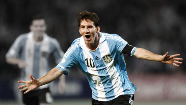 Лионел Меси ще играе за Аржентина в световните квалификации