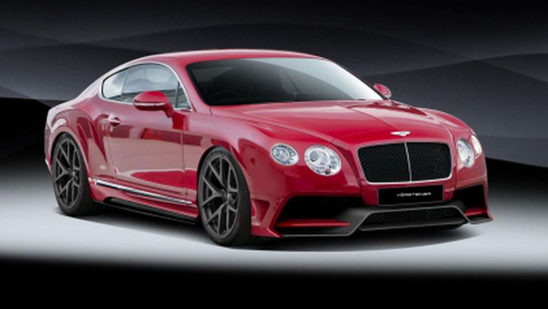 Bentley Continental GT с повече агресия и сили