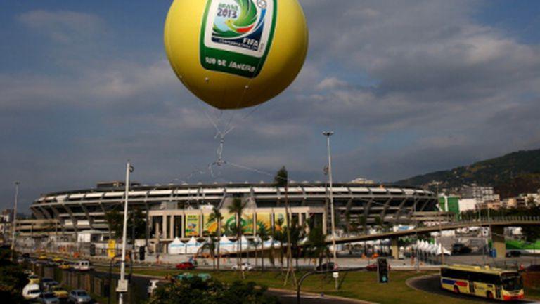Бразилия танцува в ритъма на Купата на конфедерациите