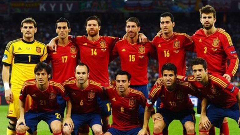 Купа на конфедерациите: Испания