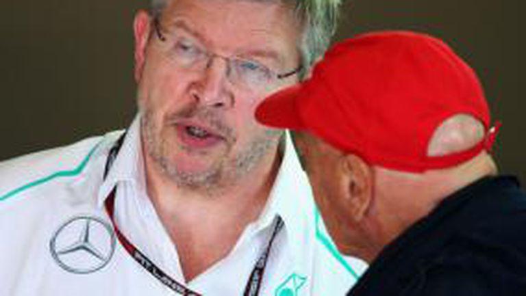 Шефовете на Мерцедес Лауда и Волф няма да се изправят пред ФИА