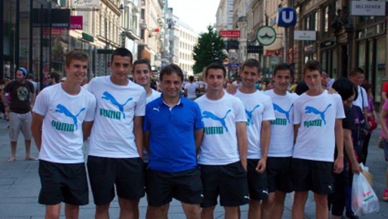 Левскарите се разведриха във Виена, почти целият отбор посети Пратера
