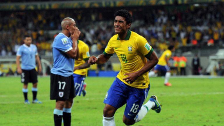 Драма по латиноамерикански прати Бразилия на финал (видео+фотогалерия)