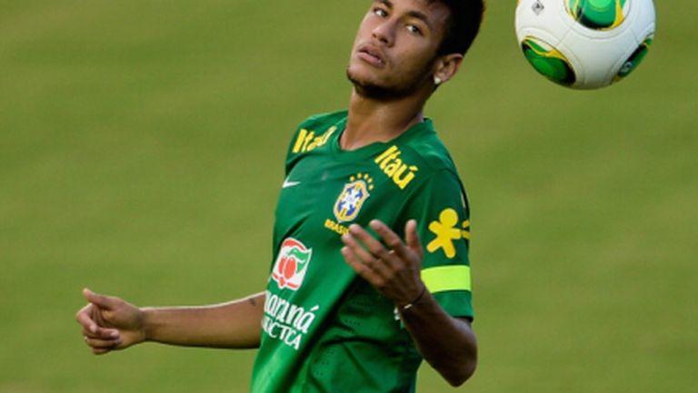 Бразилия защити Неймар от обвиненията на Лугано