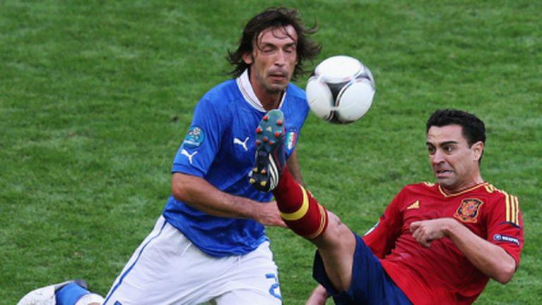 Италия няма победа над Испания от 19 години