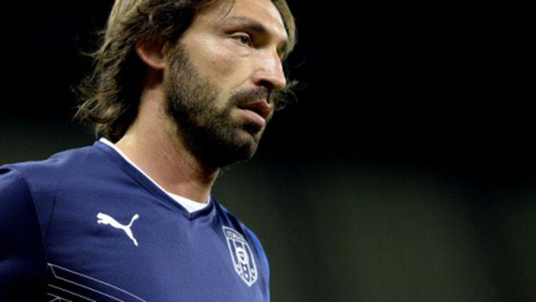 Пирло и Бардзали няма да играят срещу Уругвай