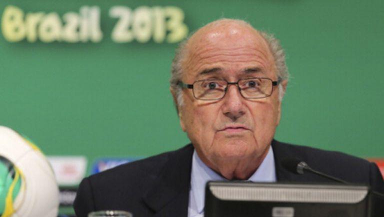 ФИФА ще дари 100 милиона долара на Бразилия