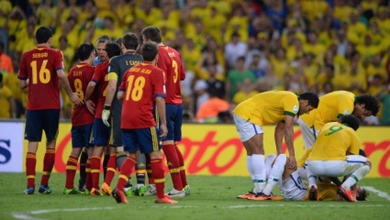 Бразилия си остава висящата нерешена задача за Испания