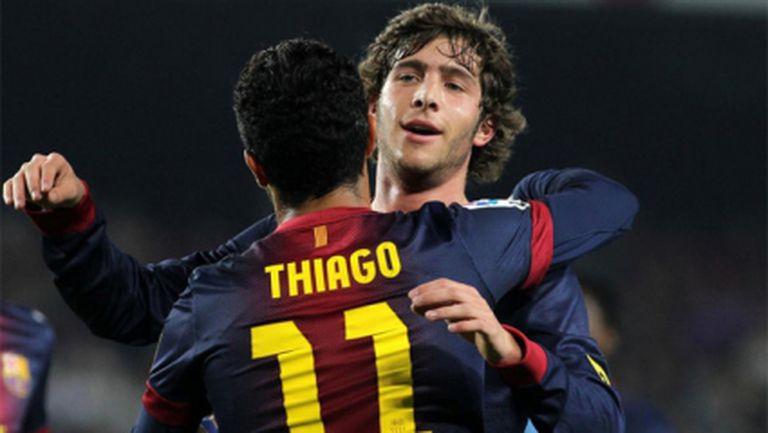 Ето кой ще е заместникът на Тиаго Алкантара в Барселона