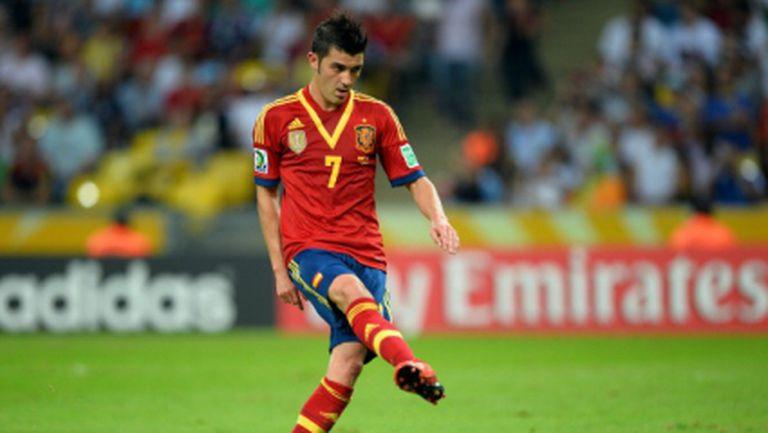 Изненада: Барселона продаде Вийя на Атлетико Мадрид