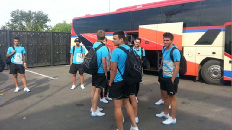 Левски пристигна в Павлодар