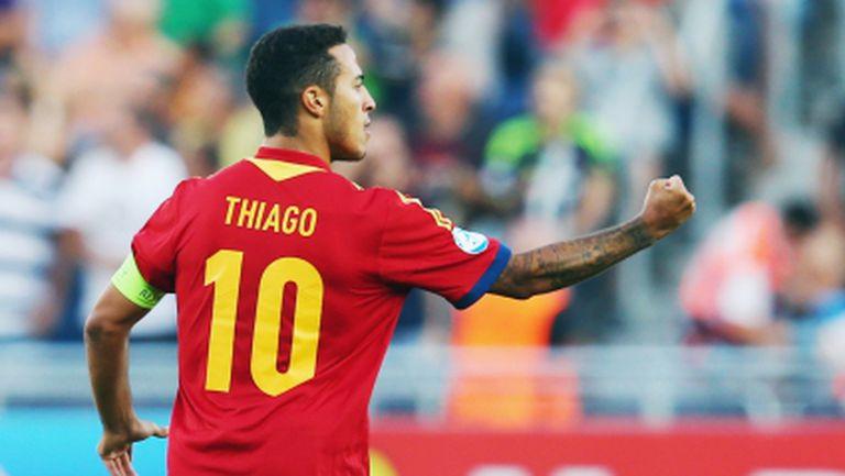 """Тиаго Алкантара вече е футболист на Байерн, твърди """"Sky Italia"""""""
