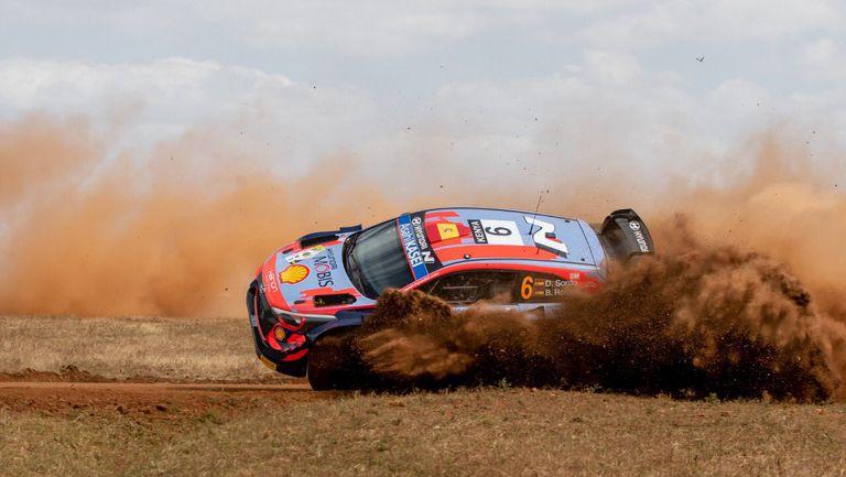 Ожие бе  най-бърз на старта  на Рали Кения