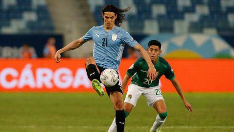 Уругвай победи аутсайдера Боливия с 2:0