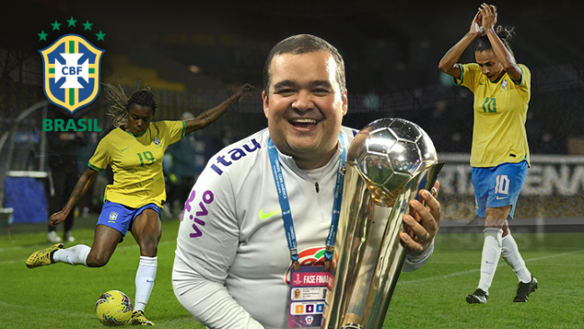 Анализатор на женския национален отбор на Бразилия: С InStat се развих като професионалист