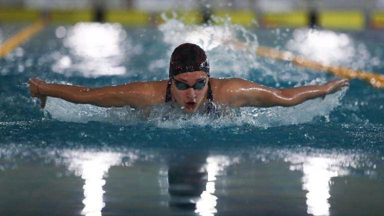Калина Николаева спечели на 200 м бътерфлай в София