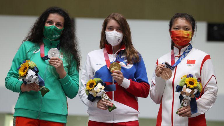 Антоанета Костадинова донесе първи медал на България!