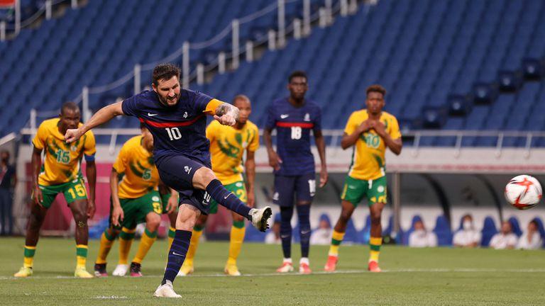Неудържим Жиняк спаси Франция срещу ЮАР с хеттрик за 28 минути