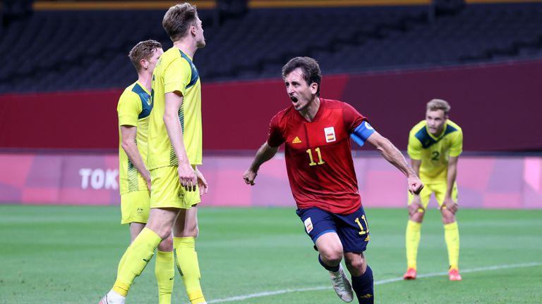 Късен гол донесе първи успех за Испания на Токио 2020