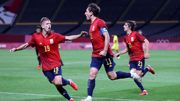 Испания записа първа победа във футболния турнир при мъжете