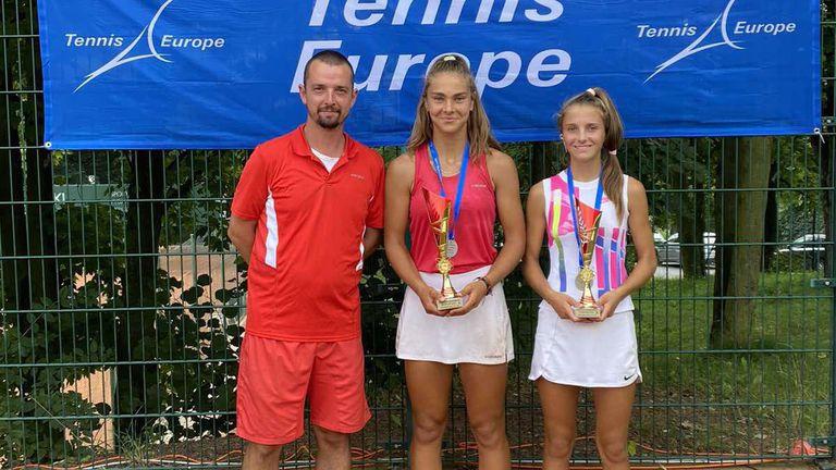 Българки са европейски вицешампионки по тенис до 14 г.