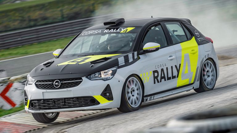 Този уикенд в Рали Барум дебютира новия клас за електрически автомобили