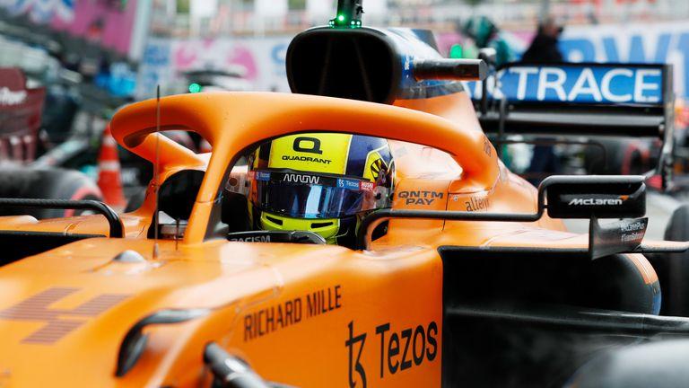 Ландо Норис ще стартира първи за Гран При на Русия