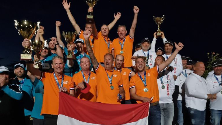 Нидерландци спечелиха Световното по риболов Пловдив