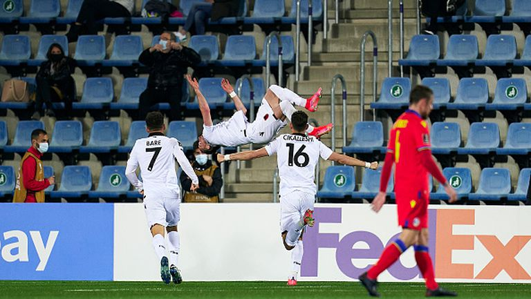 Андора - Албания 0:1