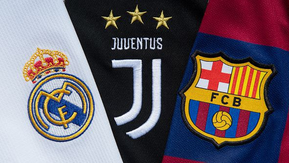 УЕФА стартира процедура срещу Реал, Барселона и Ювентус