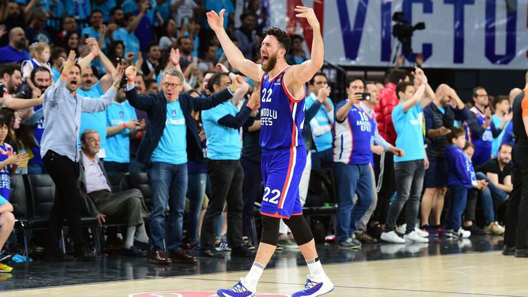 Василие Мицич е новият MVP в Евролигата