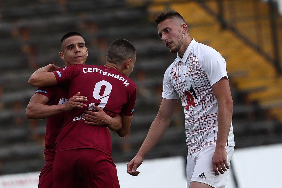 Септември (U18) - ЦСКА-София (U18)  6:2/ Финал за Купата на България