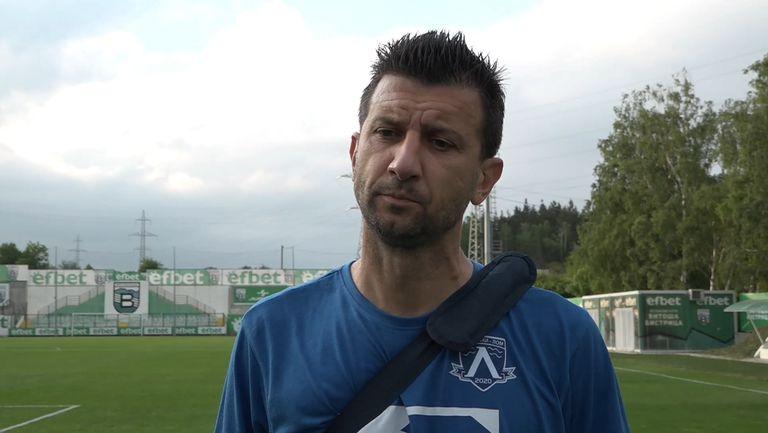 Венци Иванов: Розова долина влезе по-добре в мача
