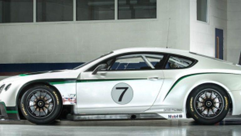 Bentley показа новия си състезател