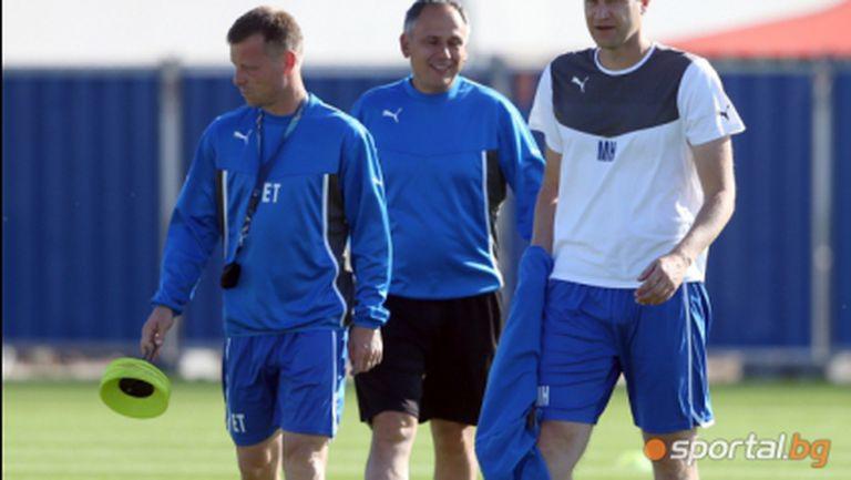 Сираков отложи чистката в Левски - новият треньор решава за играчите, Топчо и Мариян