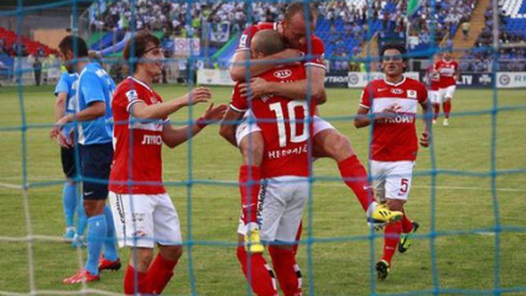 Спартак превзе Самара, Тино Коста дебютира с гол