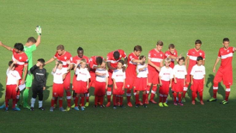 Щутгарт загря за Ботев с 0:0 срещу Олимпиакос