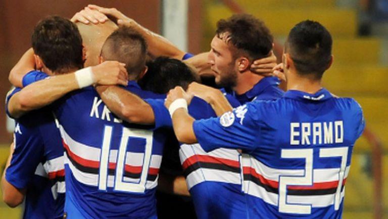 Сампдория надигра Марсилия в страхотен голов трилър