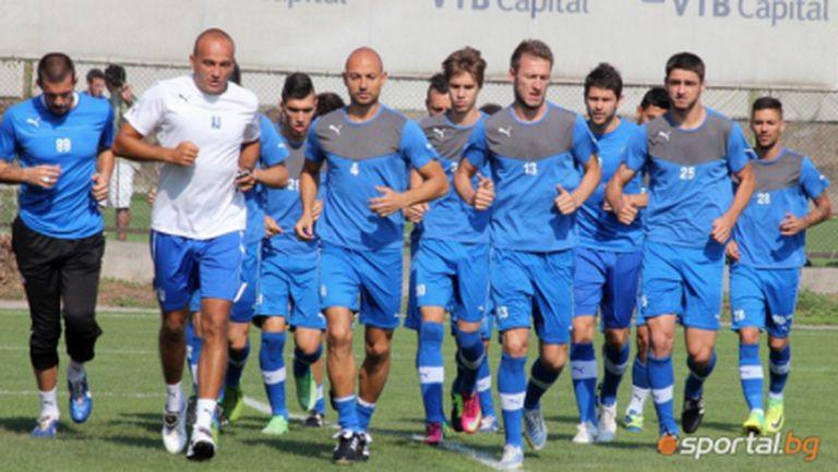 Левски играе контрола с юношите