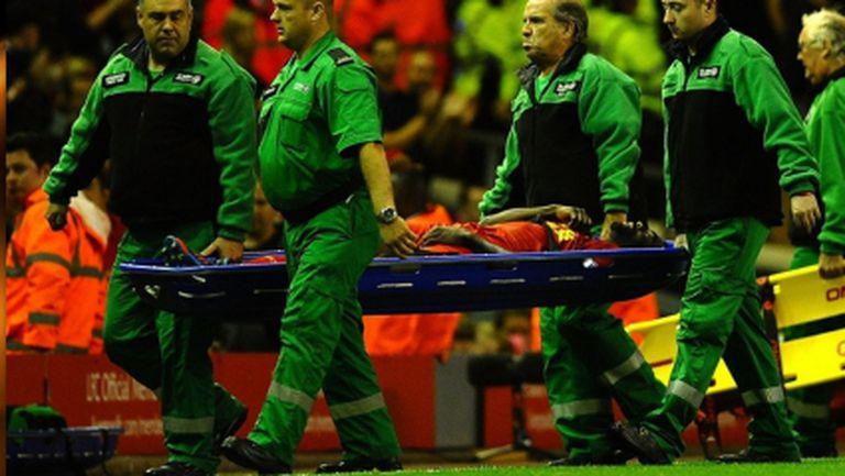 Тежък удар за Ливърпул преди дербито с Манчестър Юнайтед
