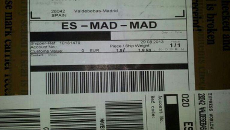 """""""Адидас"""" прати обувки на Бейл в Мадрид"""