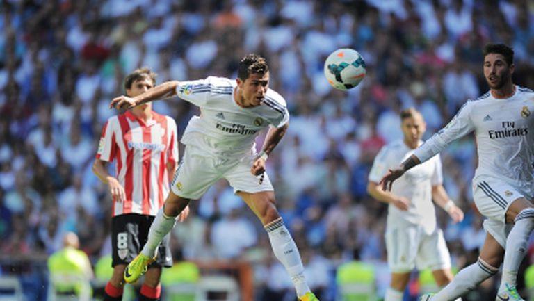 Реал Мадрид отнесе Билбао - Иско вилнее, CR7 с първи гол (видео)