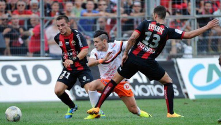 Монпелие не се даде на Ница, Сент Етиен се справи с Бордо