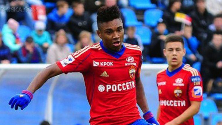 Новата звезда на ЦСКА вече бележи
