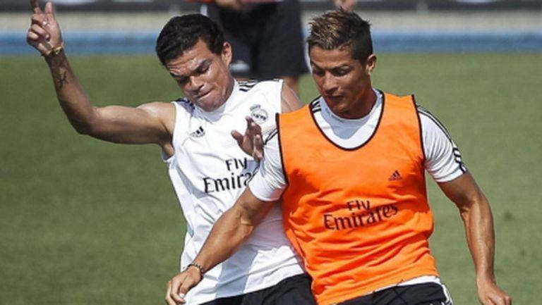 Кристиано и Иско вече тренират с отбора