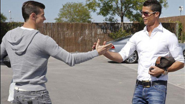 Кристиано Роналдо е отличен пример за Бейл, смята Зидан